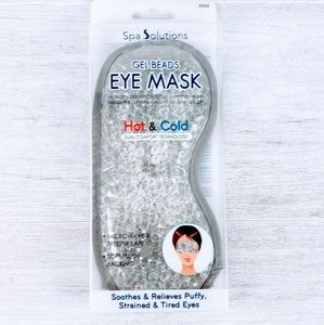 Spa Solutions Gel Beads Eye Mask NIB